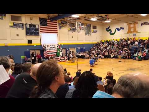 Patty Murray speech at King County Democratic Convention, May 1st 2016