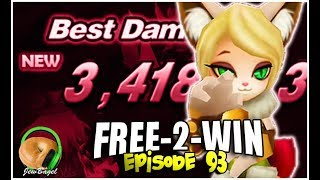 They claimed Naomi was secretly OP... (SUMMONERS WAR : FREE-2-WIN - Episode 93)