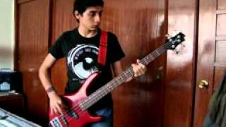 Steriogram - Walkie Talkie Man Bass Cover