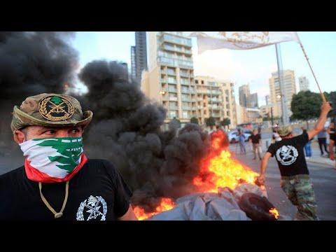لبنان: احتجاجات واسعة في بيروت قبل تصويت المجلس النيابي على موازنة تقشفية خانقة…  - 10:55-2019 / 7 / 19