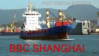 BBC SHANGHAI (Cargo Ship) Port Kembla Departure