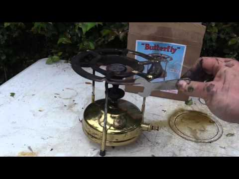 Prepping 101: Kerosene Pressure Stoves With Diesel - Reviewing the Butterfly