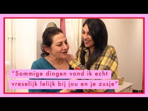 Mijn mama geeft haar mening over mijn make up looks van vroeger - Anna Nooshin