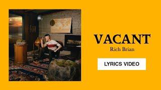 Rich Brian - Vacant  Lyrics Video