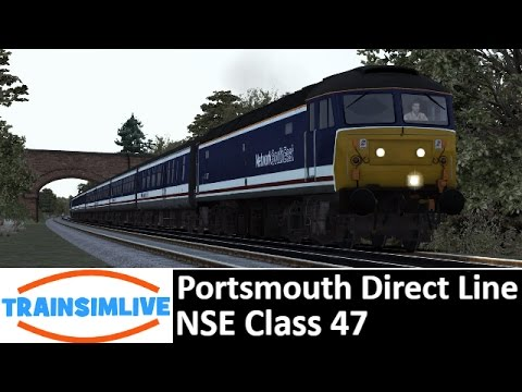 Let's Play Train Simulator 2016 - Portsmouth Direct Line, NSE Class 47