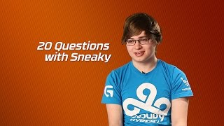 Cloud9 HyperX Sneaky | 20 Questions