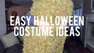 EASY HALLOWEEN COSTUME IDEAS Thumbnail