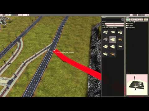 CiM 2 Map Editor Tutorial - Bus lane intersection