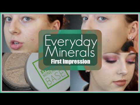 Everyday Minerals Foundation First Impression