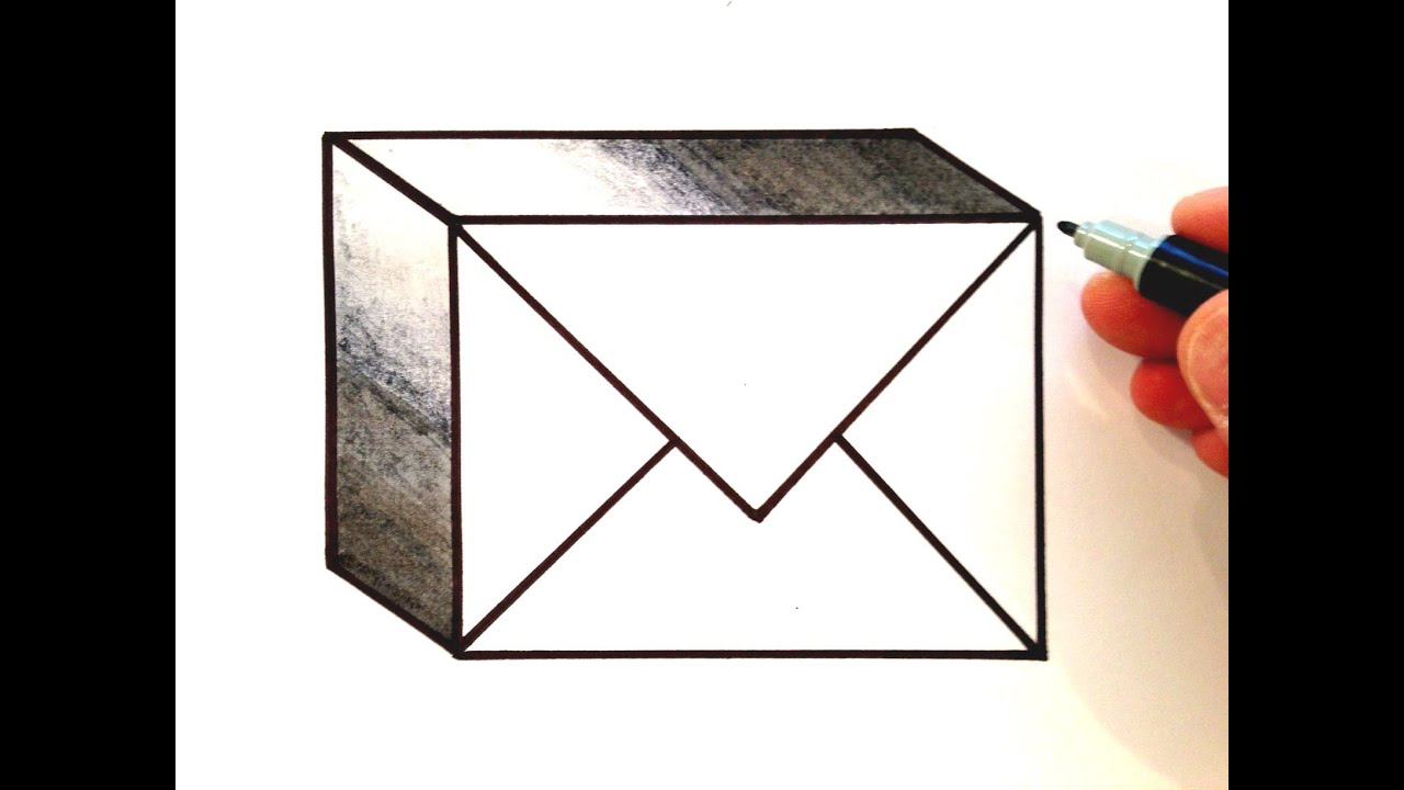 how to draw the lgo email