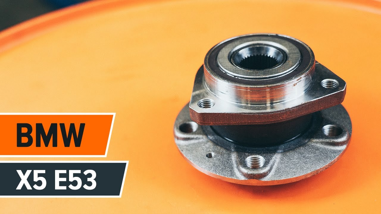 Hvordan Bytte Bakre Hjullager P 229 Bmw X5 E53