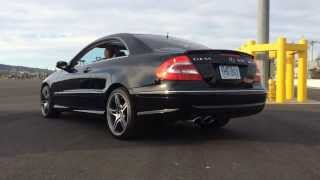 Clk55 AMG with straight pipe