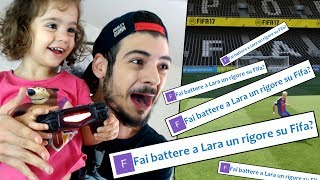 LARA GIOCA A FIFA 17 ❤ #PieRisponde