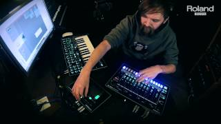 Live Jam TR-8, TB-3, System-1 with Korablove