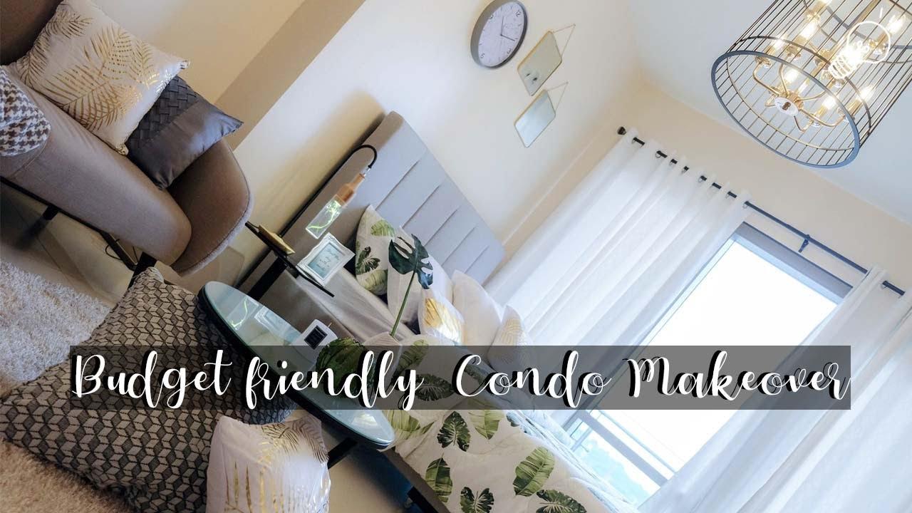 Interior Design Budget Friendly Scandinavian Inspired Condominium Makeover Youtube