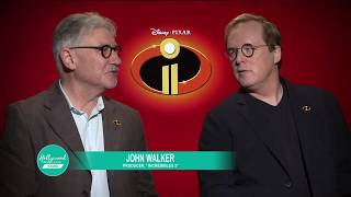 Making of: INCREDIBLES 2 | Director Brad Bird & Producer John Walker (2018)