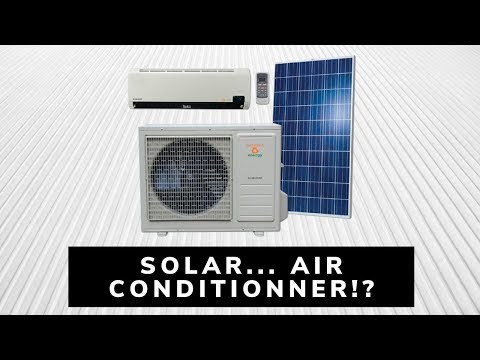 Solar air conditionner!? | Air conditioning / heating on or off grid with solar panels