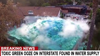 BREAKING: TOXIC GREEN OOZE FOUND ON INSTERSTATE LEAKS INTO DETROIT WATER SUPPLY