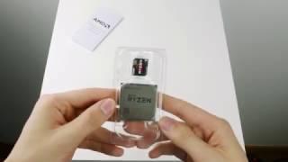 AMD Ryzen 7 1700 Unboxing