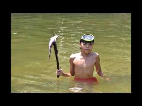 Traditional Dayak Fishing Trip, Sungai Sekayam, Kalimantan Barat Indonesia