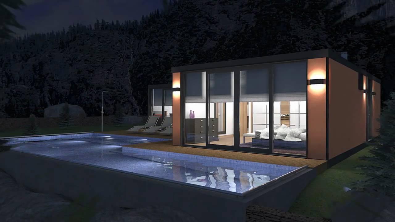 Arquitetura 3d casa modelar youtube for Modelar habitacion 3d max