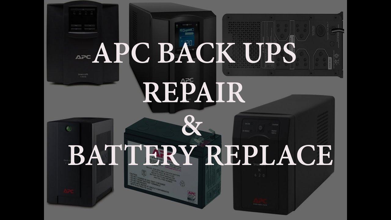APC Back UPS Repair and Battery Replace For 40VA, 40VA, 40RS, 40VA,  40VA, 40VA, 40VA