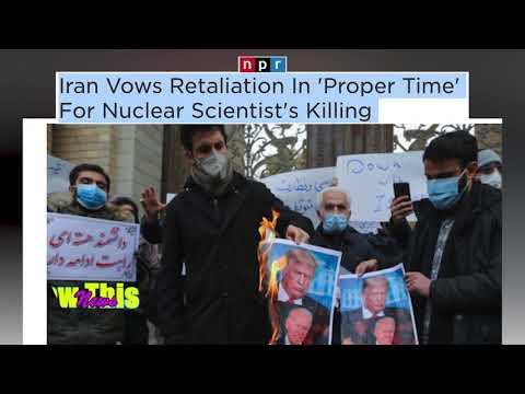 NPR   Iran Vows Retaliation In 'Proper Time' For Nuclear Scientist's Killing.