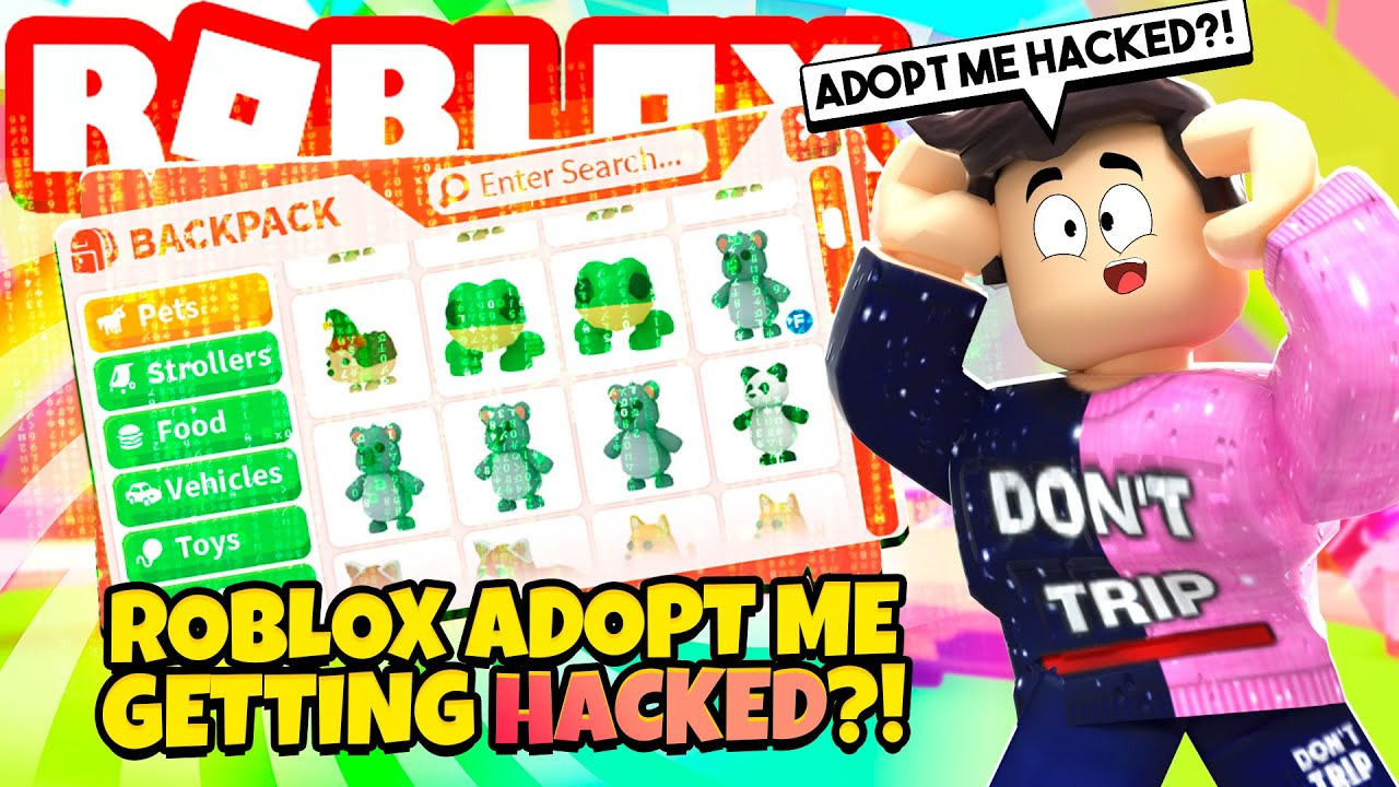 Roblox Adopt Me Is Getting Hacked Youtube