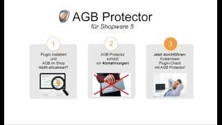 Plugins installieren + abmahngeschützt bleiben! Kostenloser AGB Protector für Shopware 5