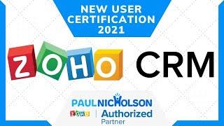 Zoho CRM Free Version 2021 New User Tutorial