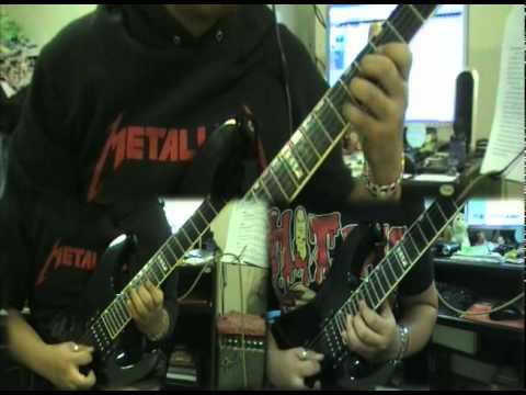 Marty Friedman - Thunder March (Full Guitar Cover)