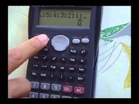 Casio Calculator BAM!!! Trick