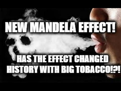 New Mandela Effect! Has The Effect Changed History With Big Tobacco & Other Things!?!