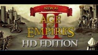 Age of Empires II - Deathmatch 2 vs  2 KI  - Kilimandscharo - Schwierig
