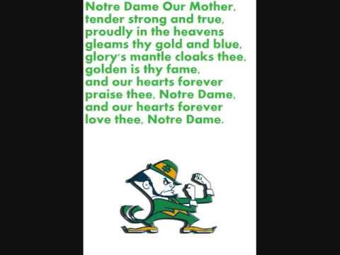 Notre Dame Alma Mater