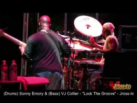 """James Ross @ (Drummer) Sonny Emory & (Bass) JV Collier - """"Locking The Groove"""" - Jross-tv"""