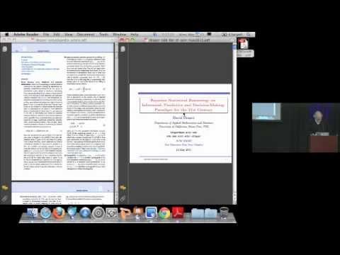 Bayesian Statistical Reasoning, by David Draper, PhD 5/23/2011