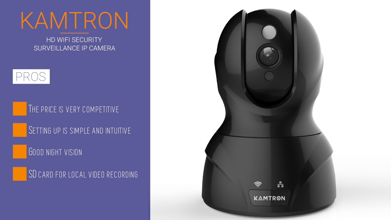 Kamtron HD WIFI Security Surveillance IP Camera Review