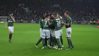 ASSE 3-0 Nantes: les buts vus de la pelouse
