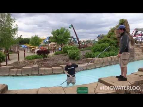 Dig Pre-Season Prep at Iowa's Largest Water Park