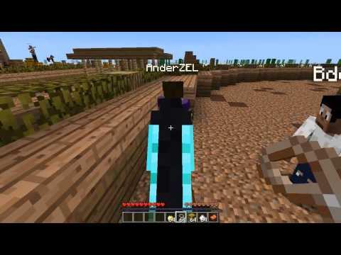 Minecraft :: Horse Racing With BdoubleO, Anderz, Avidya & Coe