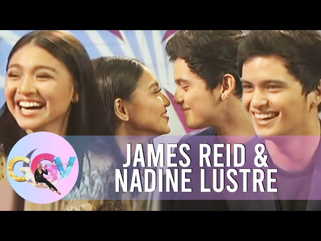 GGV: James & Nadine's nose-to-nose
