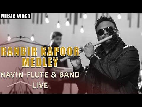 Aadhan Music   SE01 S04   Flute Navin Live   Ranbir Kapoor Medley