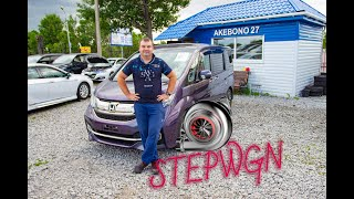 "Honda Stepwgn Spada ""ТурбоВагончик"""