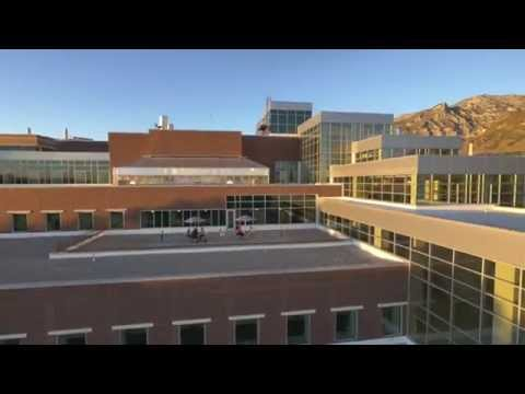 Life Flight: An Aerial Tour of BYU's New Life Sciences Building