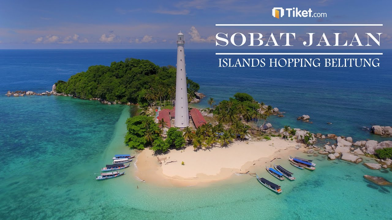 Island Hopping Belitung | Sobat Jalan - YouTube