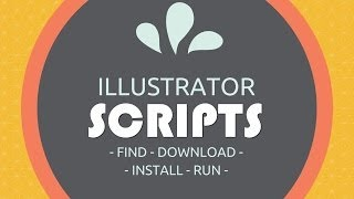Using Adobe Illustrator Scripts - How to Find, Download, Install and Run Illustrator Scripts