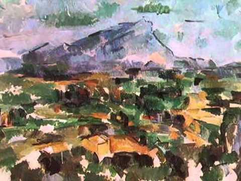 Le Mont Sainte-Victoire - Cezanne