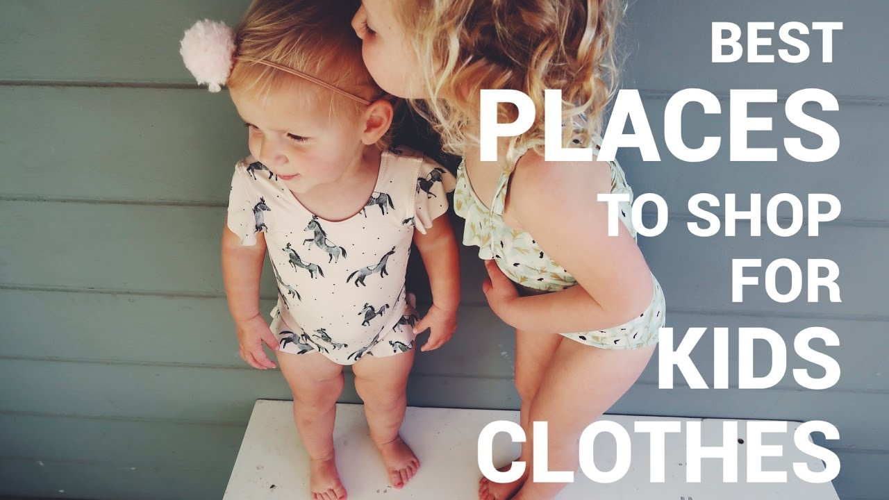 Best place to buy childrens clothes online