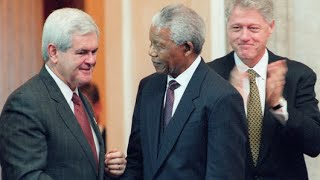 Nelson Mandela Speaks for Clinton's During Lewinsky Scandal